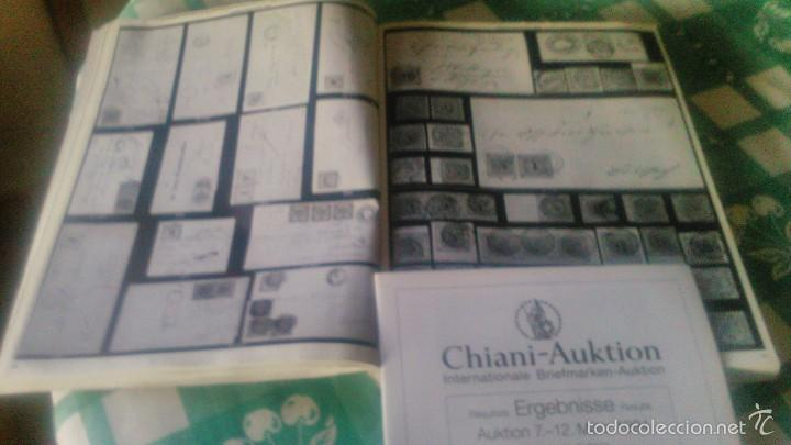 Sellos: catalogo de subasta de sellos, chiani auktion international briefmarken auktion 1994 zurich - Foto 7 - 59678315