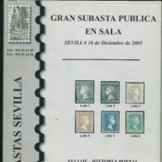 Sellos: CATALOGO - SUBASTA.. Lote 60809291