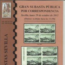 Sellos: CATALOGO - SUBASTA.. Lote 60809551