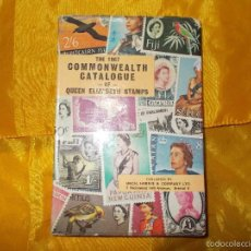 Sellos: THE 1967 COMMONWEALTH CATALOGUE. QUEEN ELIZABETH STAMPS. EDICION INGLESA. Lote 61023911