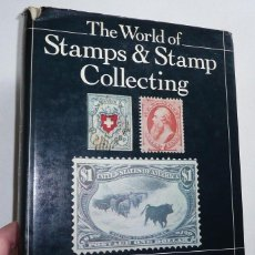 Selos: THE WORLD OF STAMPS AND STAMP COLLECTING - DAVID LIDMAN, JOHN D. APFELBAUM (1981). Lote 61456359