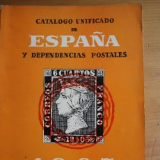 Sellos: CATALOGO UNIFICADO DE ESPAÑA Y DEPENDENCIAS POSTALES 1967. Lote 62186340