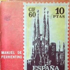 Sellos: CRÓNICA DEL CIF-60 - MANUEL DE FERMENTINO. Lote 62905236