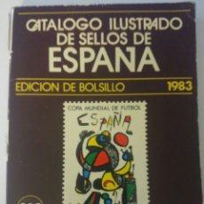 Sellos: CATOLOGO SELLOS 1983. Lote 64034713