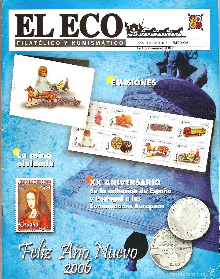 2006 EL ECO FILATÉLICO Y NUMISMÁTICO (Filatelia - Sellos - Catálogos y Libros)