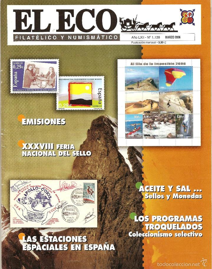 Sellos: 2006 EL ECO FILATÉLICO Y NUMISMÁTICO - Foto 3 - 65915166