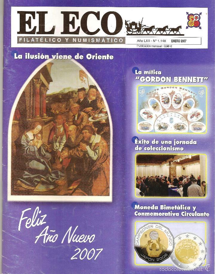 2007 EL ECO FILATÉLICO Y NUMISMÁTICO (Filatelia - Sellos - Catálogos y Libros)