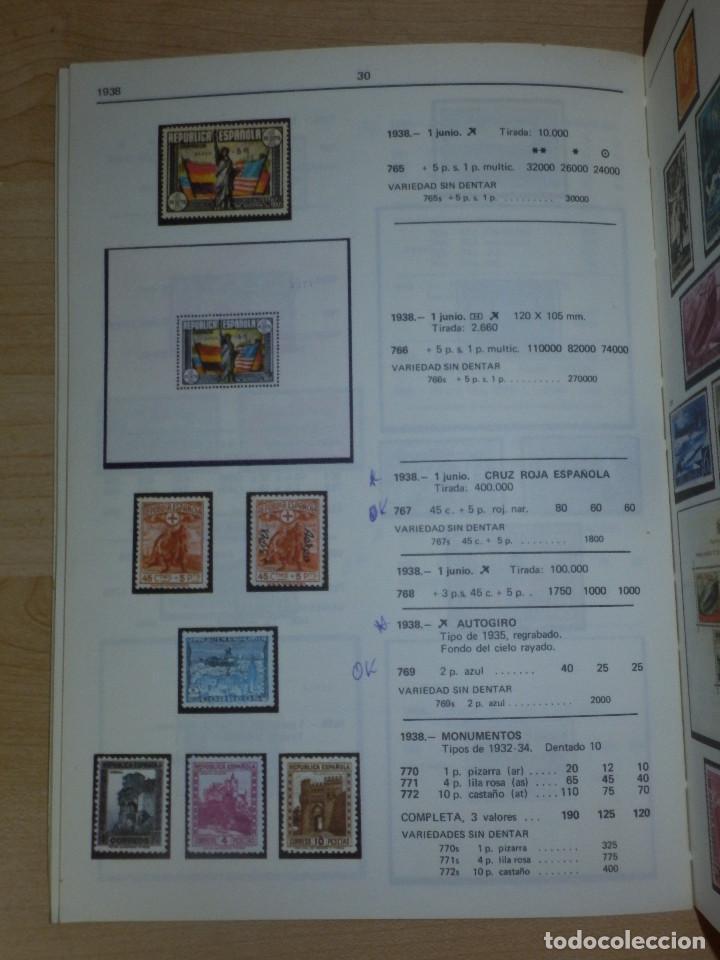 Sellos: Catálogo de sellos España - Unificado Edifil Tomo I - 1984 - Precios -Guia -. - Foto 3 - 66110378