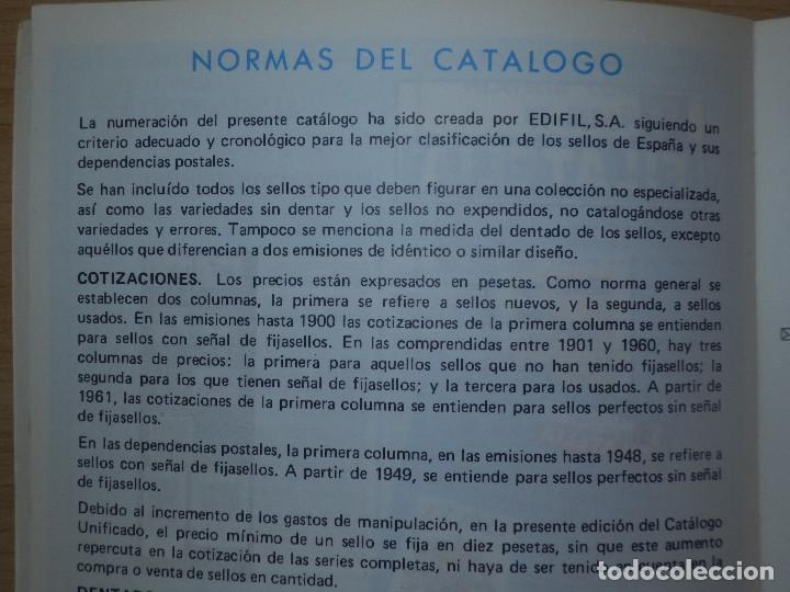 Sellos: Catálogo de sellos España - Unificado Edifil Tomo I - 1984 - Precios -Guia -. - Foto 4 - 66110378