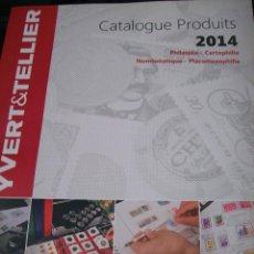 Sellos: YVERT & TELLIER. CATALOGUE PRODUITS 2014. Lote 66238818