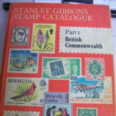 Sellos: STANLEY GIBBONS. STAMP CATALOGUE. PART I BRITISH COMMONWEALTH. EDICIÓN 1981. Lote 66750102