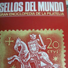 Sellos: SELLOS DEL MUNDO. GRAN ENCICLOPEDIA DE LA FILATELIA. HISTORIA. EDICIONES URBIÓN. 1982. Lote 68063293