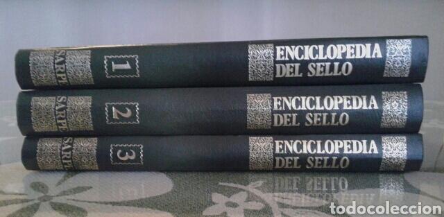 Sellos: ENCICLOPEDIA DEL SELLO, ED SARPE - Foto 2 - 70232190