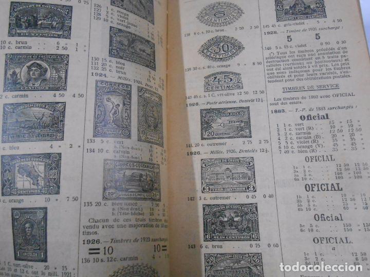 Sellos: CATALOGO DE SELLOS POSTALES. YVERT & TELLIER. CHAMPION 1929. CATALOGUE TIMBRES POST. TDK281 - Foto 3 - 70313901