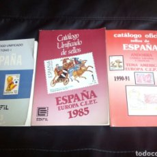 Sellos: 3 CATÁLOGO SELLOS 1983 1985 Y 1990-1991. Lote 71717595