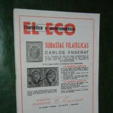 Sellos: EL ECO FILATELICO Y NUMISMATICO 1980 - N.767. Lote 73021731
