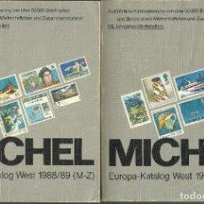 Sellos: OCASION CATALOGO DE TODA EUROPA MICHEL EN DOS TOMOS IDEAL PARA COLECCIONAR EL PRIMER CENTENARIO. Lote 75770027