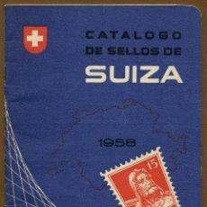 Sellos: CATÁLOGO SELLOS - JOSE Mª VIDAL TORRENS - SUIZA 1958. Lote 83040380