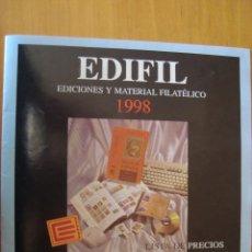 Sellos: CATALOGO EDIFIL 1998. Lote 83496034