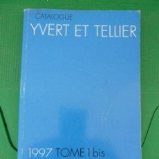 Sellos: CATALOGO YVERT ET TELLIER MONACO 1 BIS 1997. Lote 83645888