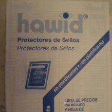 Sellos: CATALOGO HAWID PROTECTORES DE SELLOS 1994. Lote 83842028