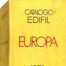 Francobolli: CATÁLOGO EDIFIL DE SELLOS DE EUROPA 1971.. Lote 85295840