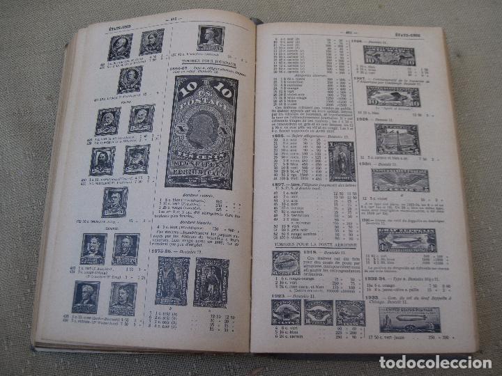 Sellos: CATALOGUE DE TIMBRES - POSTE - YVERT & TELLIER - CHAMPION - 1941. SELLOS - FILATELIA. - Foto 4 - 86966280