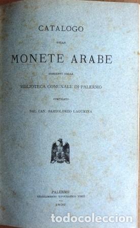 Sellos: Catalogo Delle Monete Arabe Esistenti Nella Biblioteca Comunale Di Palermo (1892) - Foto 3 - 87034044