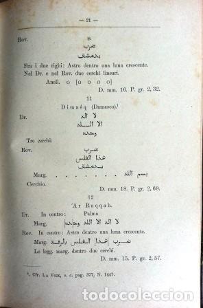 Sellos: Catalogo Delle Monete Arabe Esistenti Nella Biblioteca Comunale Di Palermo (1892) - Foto 4 - 87034044