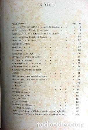 Sellos: Catalogo Delle Monete Arabe Esistenti Nella Biblioteca Comunale Di Palermo (1892) - Foto 5 - 87034044