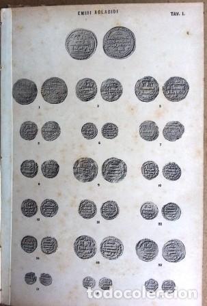 Sellos: Catalogo Delle Monete Arabe Esistenti Nella Biblioteca Comunale Di Palermo (1892) - Foto 6 - 87034044