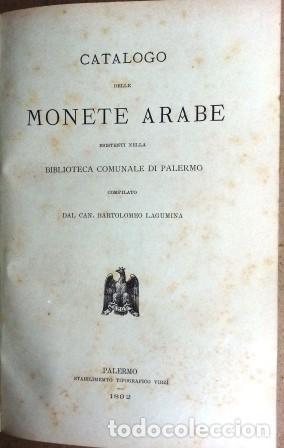 Sellos: Catalogo Delle Monete Arabe Esistenti Nella Biblioteca Comunale Di Palermo (1892) - Foto 7 - 87034044