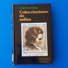 Sellos: COLECCIONISMO DE SELLOS. A. SERRANO PAREJA. FILATELIA. Lote 88350752