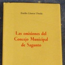 Sellos: LAS EMISIONES DEL CONCEJO MUNICIPAL DE SAGUNTO (EMILIO LLUECA UBEDA). Lote 91699640