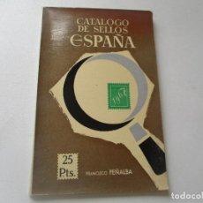 Sellos: CATÁLOGO DE SELLOS ESPAÑA 1967.- FRANCISCO PEÑALBA- CON 108 PÁG., ILUSTRADO, 21X13.5 CM. T. RÚSTICAS. Lote 94580275