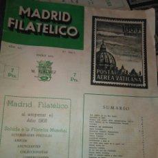 Sellos: REVISTA MADRID FILATELICO- ENERO 1958- N° 594 /1. Lote 94865403