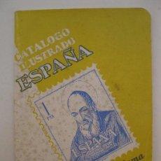 Sellos: CATÁLOGO ILUSTRADO ESPAÑA - RICARDO DE LAMA - EDICIÓN 1961.. Lote 95182131