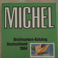 Sellos: MICHEL KATALOG 1984 DEUTSCHLAND, IMPOLUTO Y MUY RARO 1983. Lote 95299603