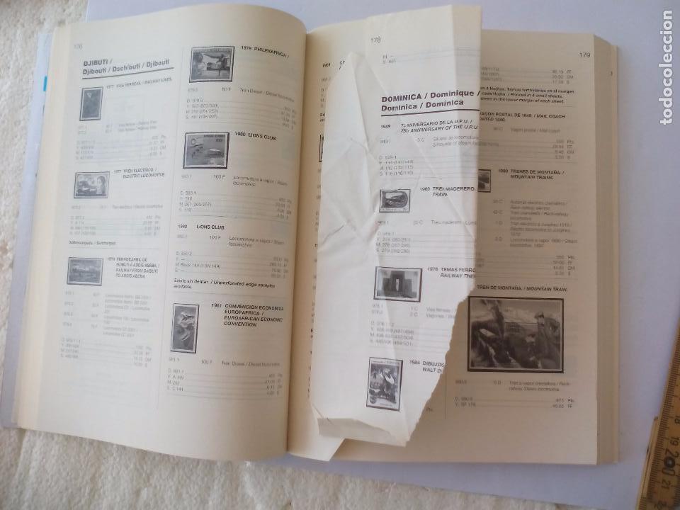 Sellos: Catalogo de sellos Ferrocarriles. 1ª edición. catalogue of Railway stamps. Domfil. - Foto 6 - 95557067