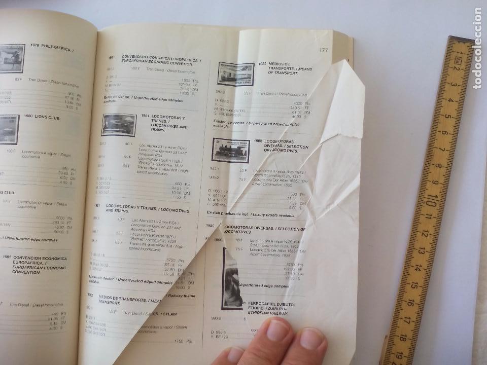 Sellos: Catalogo de sellos Ferrocarriles. 1ª edición. catalogue of Railway stamps. Domfil. - Foto 7 - 95557067