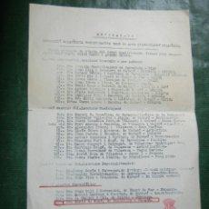 Sellos: CLUB FILATELIC MATARO - EXTRACTO JURADO CALIFICADOR EXFIMAT-76 - 1976 - SELLO DEL CFM. Lote 95890407