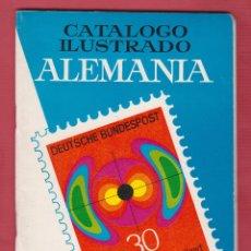 Timbres: CATALOGO ILUSTRADO ALEMANIA RICARDO DE LAMA IMPRENTA MINERVA 92 PÁGINAS.MATARO AÑO 1966 LE2129. Lote 96205835