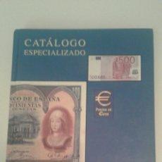 Sellos: CATALOGO ESPECIALIZADO BILLETES DE ESPAÑA EDIFIL 2002 BUEN ESTADO. Lote 97009566