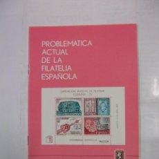 Sellos: PROBLEMATICA ACTUAL DE LA FILATELIA ESPAÑOLA. MADRID ABRIL 1975. EXPOSICION MUNDIAL. TDKR42. Lote 97427515