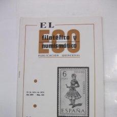Sellos - EL ECO FILATELICO Y NUMISMATICO. Nº 553. AÑO XXVI. 30 DE JULIO 1970. 6 PESETAS TOLEDO. TDKR42 - 97427751