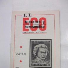 Sellos - EL ECO FILATELICO Y NUMISMATICO. Nº 552. AÑO XXVI. 1 DE JULIO 1970. SELLO BEETHOVEN. TDKR42 - 97427823
