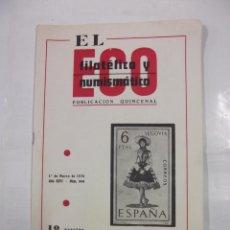 Sellos - EL ECO FILATELICO Y NUMISMATICO. Nº 544. AÑO XXVI. 1 DE MARZO 1970. SELLO SEGOVIA. TDKR42 - 97428075