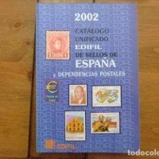 Sellos: CATALOGO ESPAÑA Y DEPENDENCIAS 2002. Lote 98742783