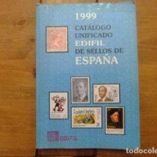 Sellos: CATALOGO ESPAÑA EDIFIL CATALOGUE ESPAGNE 1999. Lote 98743583