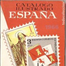 Sellos: 1966 CATALOGO ILUSTRADO SELLOS ESPAÑA - RICARDO DE LAMA -CURIOSIDAD. Lote 98992019